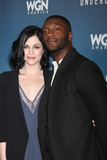 Aldis Hodge Photo - Jessica de Gouw Aldis Hodgeat the Underground WGN Winter 2016 TCA Photo Call The Langham Huntington Hotelm Pasadena CA 01-08-16