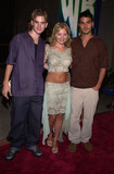 Adam LaVorgna Photo - David Gallagher Beverley Mitchell and Adam LaVorgna at the WB Networks 2002 Summer Party in Hollywood CA 07-13-02