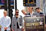 AJ MCLEAN Photo - Brian Littrell AJ McLean Nick Carter Howie Dorough Kevin Richardsonat the Backstreet Boys Star on the Walk of Fame Hollywood CA 04-22-13