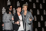 Jared Leto Photo - LOS ANGELES - SEP 12  Tomo Milicevich Shannon Leto and Jared Leto of 30 Seconds to Mars in the Press Room  at the 2010 MTV Video Music Awards  at Nokia - LA Live on September 12 2010 in Los Angeles CA