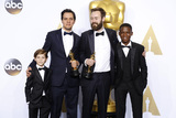 Benjamin Cleary Photo - LOS ANGELES - FEB 28  Jacob Tremblay Shan Christopher Ogilvie Benjamin Cleary Abraham Attah at the 88th Annual Academy Awards - Press Room at the Dolby Theater on February 28 2016 in Los Angeles CA