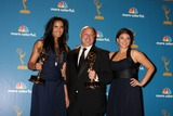 Tom Colicchio Photo - LOS ANGELES - AUG 29  Padma Lakshmi Tom Colicchio  Gail Simmons in the Press Room at the 2010 Emmy Awards at Nokia Theater at LA Live on August 29 2010 in Los Angeles CA