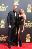 Nicole Miller Photo - LOS ANGELES - MAY 7  Tito Ortiz Amber Nicole Miller at the MTV Movie and Television Awards on the Shrine Auditorium on May 7 2017 in Los Angeles CA