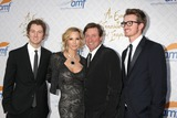 Alfred Mann Photo - LOS ANGELES - OCT 13  Janet Jones Gretzky Wayne Gretzky sons at the 10th Alfred Mann Foundation Gala at Robinson-May Lot on October 13 2013 in Beverly Hills CA