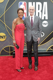 Adam Silver Photo - LOS ANGELES - JUN 24  Robin Roberts Adam Silver at the 2019 NBA Awards at the Barker Hanger on June 24 2019 in Santa Monica CA