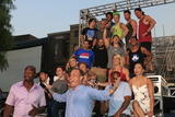 Akbar Gbajabiamila Photo - LOS ANGELES - AUG 24  Akbar Gbajabiamila Matt Iseman Competitors at the American Ninja Warrior Screening Event at the Universal Studios on August 24 2016 in Universal City CA