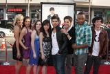 Asher Book Photo - Fame Cast (2009) - Kherington Payne Kristy Flores Kay Panabaker Anna Maria Perez de Tagle Walter Perez Asher Book Collins Pennie and Paul Iacono  arriving at the 17 Again Premiere at Graumans Chinese Theater in Los Angeles CA on April 14 2009