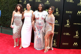 Adrienne Bailon Photo - LOS ANGELES - APR 29  Jeannie Mai Tamera Mowry Loni Love Adrienne Bailon Houghton at the 45th Daytime Emmy Awards at the Pasadena Civic Auditorium on April 29 2018 in Pasadena CA