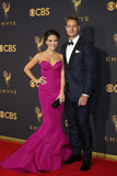 Justin Hartley Photo - LOS ANGELES - SEP 17  Chrishell Stause Justin Hartley at the 69th Primetime Emmy Awards - Arrivals at the Microsoft Theater on September 17 2017 in Los Angeles CA