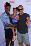 Alysia Montano Photo - LOS ANGELES - APR 23  Alysia Montano Linnea Montano Louis Montano at the Safe Kids Day at the Smashbox Studios on April 23 2017 in Culver City CA