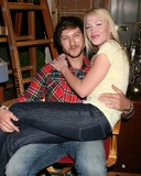 Michael Graziadei Photo - Michael Graziadei   Adrienne Frantz on the set of THe Young  The Restless  celebrating  Jeanne Coopers 80th Birthday in Los Angeles CA onOctober 24 2008