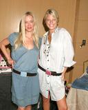 April OBrien Photo - Jennifer Gareis  cousin April OBrienGBK Productions Emmy Gifting LoungeSofitel HotelAugust 24  25 2006