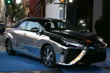 Fuel Photo - LOS ANGELES - MAR 1  Toyota Mirai - Hydrogen Fueled at the Keep It Clean Benefit for Waterkeeper Alliance at Avalon on March 1 2018 in Los Angeles CA