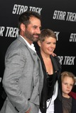 Adrian Pasdar Photo - Adrian Pasdar Natalie Maines  son arriving at the Star Trek Premiere at Graumans Chinese Theater in Los Angeles CA on April 30 2009