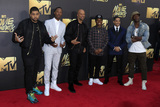 Aldis Hodges Photo - LOS ANGELES - APR 9  OShea Jackson Jr Corey Hawkins Common Neil Brown Jr Aldis Hodge at the 2016 MTV Movie Awards Arrivals at the Warner Brothers Studio on April 9 2016 in Burbank CA