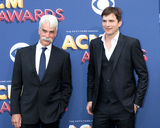 Ashton Kutcher Photo - LAS VEGAS - APR 15  Sam Elliott Ashton Kutcher at the Academy of Country Music Awards 2018 at MGM Grand Garden Arena on April 15 2018 in Las Vegas NV
