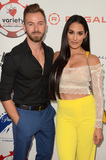 Artem Chigvintsev Photo - LOS ANGELES - JUL 24  Artem Chigvintsev Nikki Bella at the 9th Annual Variety Charity Poker  Casino Night at the Paramount Studios on July 24 2019 in Los Angeles CA