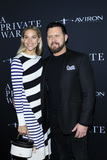AJ Buckley Photo - LOS ANGELES - OCT 24  Wife AJ Buckley at the A Private War Premiere at the Samuel Goldwyn Theater on October 24 2018 in Beverly Hills CA