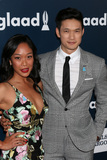 Harry Shum Jr Photo - LOS ANGELES - APR 1  Shelby Rabara Harry Shum Jr at the 28th Annual GLAAD Media Awards at Beverly Hilton Hotel on April 1 2017 in Beverly Hills CA