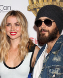 Jared Leto Photo - LAS VEGAS - MAR 29  Ana De Armas Jared Leto at the Warner Bros CinemaCon Photocall at the Caesars Palace on March 29 2017 in Las Vegas NV