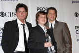 Angus T Jones Photo - Charlie Sheen Jon Cryer and Angus T Jones  in the press room at the Peoples Choice Awards at the Shrine Auditorium in Los Angeles CA on January 7 2009