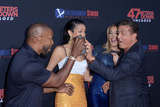 Jamie Foxx Photo - LOS ANGELES - AUG 13  Jamie Foxx Corinne Foxx Sistine Rose Stallone Sylvester Stallone at the 47 Meters Down Uncaged Los Angeles Premiere at the Village Theater on August 13 2019 in Westwood CA
