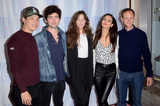 Analeigh Tipton Photo - LOS ANGELES - JUN 21  Hayden Szeto Ian Nelson Analeigh Tipton Victoria Justice Joseph Cross at the Summer Night Screening at Rom Com Fest 2019 at the Downtown Independent Theater on June 21 2019 in Los Angeles CA