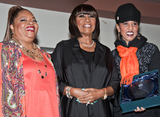 Nona Hendryx Photo - PHILADELPHIA PA USA - APRIL 02 Sarah Dash Patti LaBelle and Nona Hendryx Attend WDASs 2016 Women of Excellence Luncheon at First District Plaza on April 02 2016 in Philadelphia Pennsylvania United States (Photo by Paul J FroggattFamousPix)