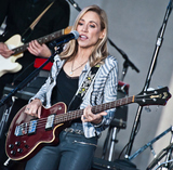 Sheryl Crow Photo - NEW YORK NY USA - APRIL 19 Sheryl Crow Performs on NBCs Today Show at Rockefeller Plaza on April 19 2017 in New York City New York United States (Photo by Paul J FroggattFamousPix)