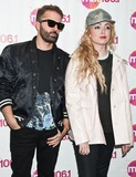 Jules De Martino Photo - BALA CYNWYD PA USA - APRIL 10 (L to R) Jules De Martino and Katie White of British Indie Rock Duo The Ting Tings Pose at Mix 106s Performance Theatre on April 10 2015 in Bala Cynwyd Pennsylvania United States (Photo by Paul J FroggattFamousPix)