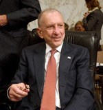 Arlen Specter Photo - Arlen Specter7079JPG WASHINGTON STOCKWashington DC - September 13 2005 -- United States Senator Arlen Specter (Republican of Pennsylvania) Chairman United States Senate Committee on the Judiciary takes a break from the hearing on the Nomination of John G Roberts Jr to be Chief Justice of the United StatesDigital Photo by Ron Sachs-CNP-PHOTOlinknet