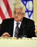 ABBA Photo - President Mahmoud Abbas of the Palestinian Authority makes remarks at the event hosted by United States Secretary of State Hillary Rodham Clinton entitled the Relaunch of Direct Negotiations Between the Israelis and Palestinians in the Benjamin Franklin Room of the US Department of State on Thursday September 2 2010  Credit Ron Sachs  CNP(RESTRICTION NO New York or New Jersey Newspapers or newspapers within a 75 mile radius of New York City)