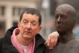 Antony Gormley Photo - New York NY 3232010Artist Antony Gormley stands with a piece from his new public art installation Event Horizon a collection of thirty-one casts of the artist himself placed in and around Madison Square Park Digital photo by Andy Lavin-PHOTOlinknet