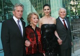 Anne Buydens-Douglas Photo - Photo by Raoul Gatchalianstarmaxinccom201052410Michael Douglas Ann Buyden Douglas Catherine Zeta-Jones and Kirk Douglas at the 37th Annual Chaplin Award Gala(NYC)