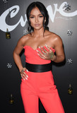 Karrueche Tran Photo - Photo by Patricia SchleinstarmaxinccomSTAR MAX2017ALL RIGHTS RESERVEDTelephoneFax (212) 995-119612717Karrueche Tran at The Curve Mens Fragrance Launch in New York City