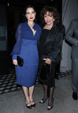 Dita Von Teese Photo - Photo by OGUTstarmaxinccomSTAR MAX2020ALL RIGHTS RESERVEDTelephoneFax (212) 995-119621220Dita Von Teese and Joan Collins are seen at Craigs Restaurant in Los Angeles CA