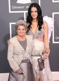 Ann Hudson Photo - Katy Perry and her grandmother Ann Hudson at the 53rd Annual Grammy Awards (Los Angeles CA) 21311