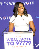Michelle Obama Photo - Photo by Raoul GatchalianstarmaxinccomSTAR MAX2018ALL RIGHTS RESERVEDTelephoneFax (212) 995-119692318Michelle Obama at the When We All Vote Rally at Chaparral High School in Las Vegas Nevada