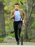 Arthur Darvill Photo - Non-Exclusive2012 Apr 11 - Matt Smith Karen Gillan and Arthur Darvill  on location for Dr Who in Central Park NY Photo Credit Jackson Leestarmaxinccom