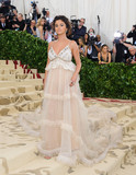 Selena Gomez Photo - Photo by ESBPstarmaxinccomSTAR MAX2018ALL RIGHTS RESERVEDTelephoneFax (212) 995-11965718Selena Gomez at the 2018 Costume Institute Benefit Gala celebrating the opening of Heavenly Bodies Fashion and the Catholic Imagination(The Metropolitan Museum of Art NYC)