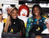 Ronald McDonald Photo - Photo by Peter KramerSTAR MAX Inc - copyright 2002112002Serena Williams and Venus Williams at the Ronald McDonalds House press conference to announce World Childrens Day(NYC)