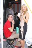 Amir Slama Photo - Photo by Mitch Gerberstarmaxinccom200491004Nicole Richie with her fiance at the Amir Slama Fashion Show(Bryant Park NYC)