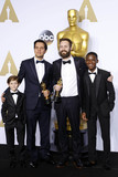 Benjamin Cleary Photo - Photo by REWestcomstarmaxinccomSTAR MAXCopyright 2016ALL RIGHTS RESERVEDTelephoneFax (212) 995-119622816Jacob Tremblay Shan Christopher Ogilvie Benjamin Cleary and Abraham Attah at the 88th Annual Academy Awards (Oscars)(Hollywood CA USA)