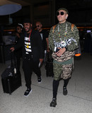 Black Eyed Peas Photo - Photo by SMXRFstarmaxinccomSTAR MAX2018ALL RIGHTS RESERVEDTelephoneFax (212) 995-11968318apldeap and Taboo of the Black Eyed Peas is seen at LAX Airport in Los Angeles CA