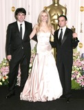 Alejandro Amenabar Photo - Photo by Byron Purvisstarmaxinccom200522705Gwyneth Paltrow with Fernando Bovaram andAlejandro Amenabar at the 77th Annual Academy Awards (Oscars)(Hollywood CA)