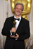 William Goldenberg Photo - William Goldenberg with the Oscar for Achievement in Film Editing for Argo at the 85th Academy Awards at the Dolby Theatre Los Angeles