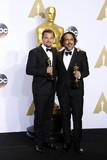 Alejandro Gonzalez Inarritu Photo - Photo by REWestcomstarmaxinccomSTAR MAXCopyright 2016ALL RIGHTS RESERVEDTelephoneFax (212) 995-119622816Leonardo DiCaprio and Alejandro Gonzalez Inarritu at the 88th Annual Academy Awards (Oscars)(Hollywood CA USA)