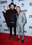 El Chapo Photo - Photo by gotpapstarmaxinccomSTAR MAXCopyright 2017ALL RIGHTS RESERVEDTelephoneFax (212) 995-119641917Rodrigo Abed and Juan Carlos Olivas at the premiere of El Chapo(Los Angeles CA)