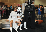 Allie Haze Photo - LOS ANGELES CA - AUGUST 27  Adult Film Star Allie Haze Storm Trooper and Darth Vader appear at Day 2 of the 2011 eXXXotica Los Angeles  at the Los Angeles COnvention Center West Hall on August 27 2011  in Downtown Los Angeles California  (Albert L OrtegaImageCollectcom)