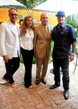 Daisy Lewis Photo - Co-Chair of CoConut merchant group Stephen Licata Daisy Lewis City Miami Mayor Tomas Regalado and Vanilla Ice attend a press conference for the third Annual The Great Grove Bed Race held Coconut Grove in the Peacock Garden Cafe Miami FL 30th August 2011